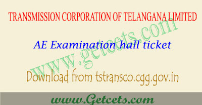 TSTransco hall ticket 2018 download AE posts exam,TS TRANSCO AE Hall ticket 2018,TS Transco AE exam results 2018