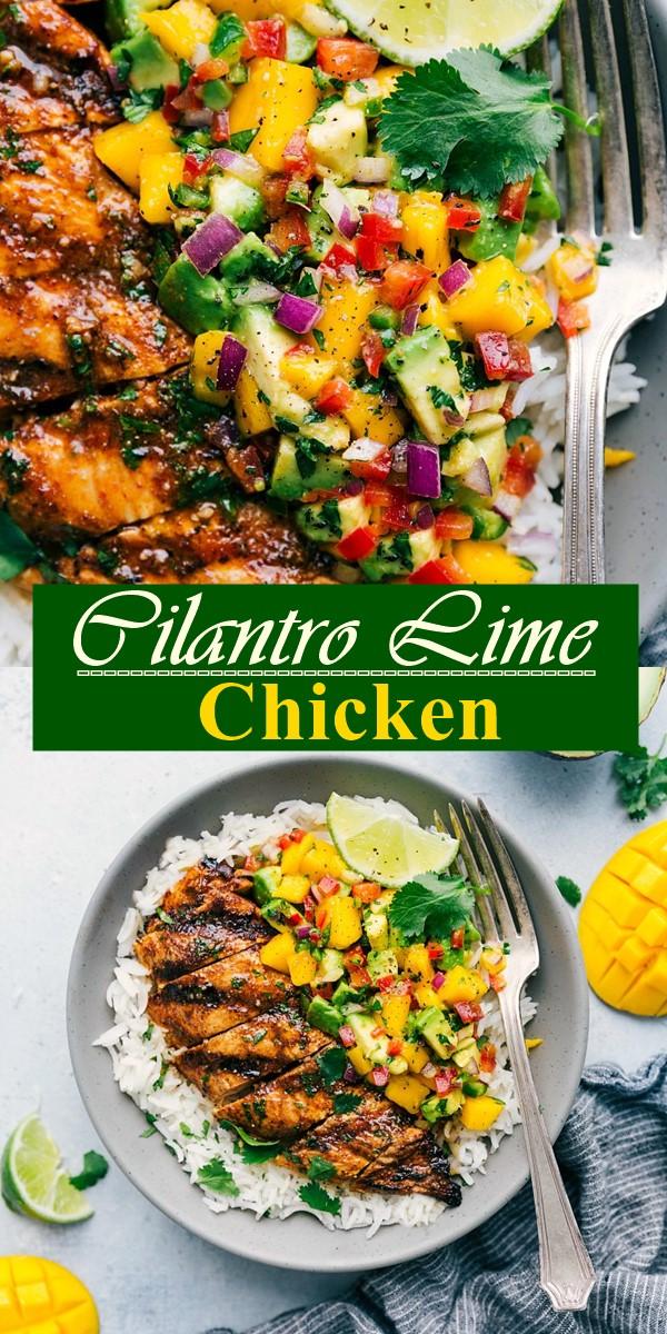 Cilantro Lime Chicken #dinnerrecipes