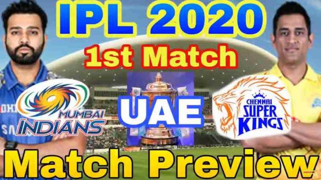IPL 2020 First Match Full Analysis MI VS CSK