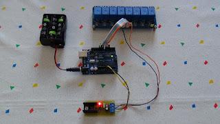 Fig. 4 - Circuito completo di regolatore a 5 Volt in funzione - Foto di Paolo Luongo
