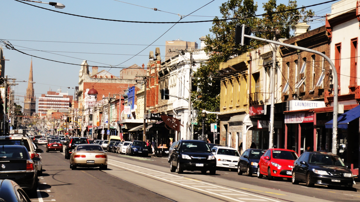 Brunswick Street Melbourne Food
