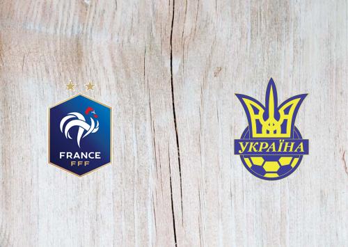 France vs Ukraine -Highlights 07 October 2020