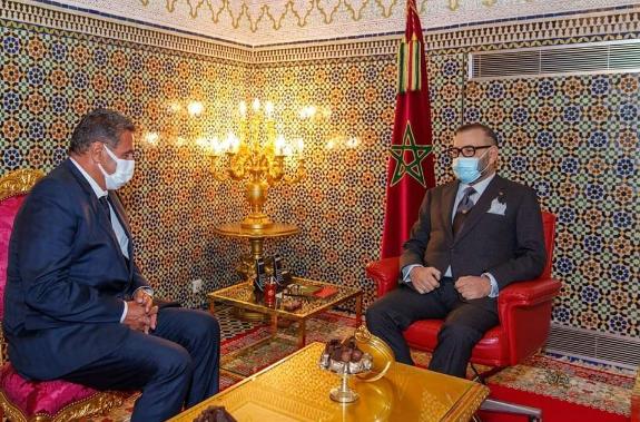 جلالة الملك يعين السيد عزيز أخنوش رئيسا للحكومة ويوجهه بتشكيل الحكومة الجديدة