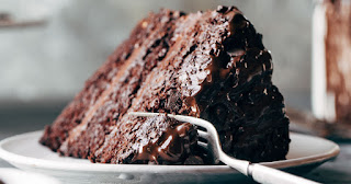 chocolate cake can be SKINNY FOOD