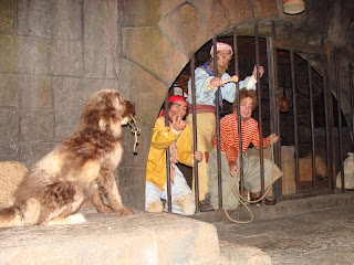 Dog With Keys Pirates of the Caribbean Disney World