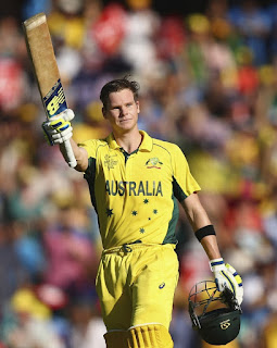 Steve Smith 105 - Australia vs India 2nd Semi-Final ICC Cricket World Cup 2015 Highlights