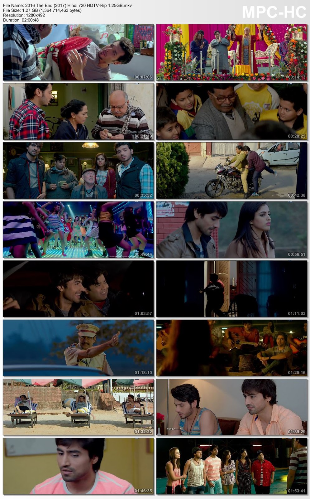2016 The End (2017) Hindi 480p HDTV-Rip 350MB Desirehub