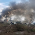 The plane crashed in Mexico, wounded 85