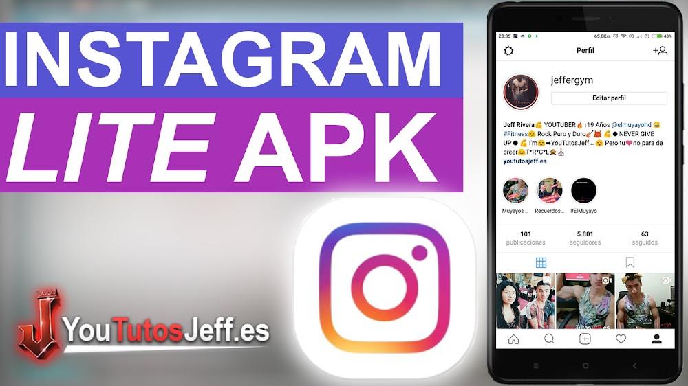 Instagram Lite - Descarga el nuevo Instagram de pocos recursos