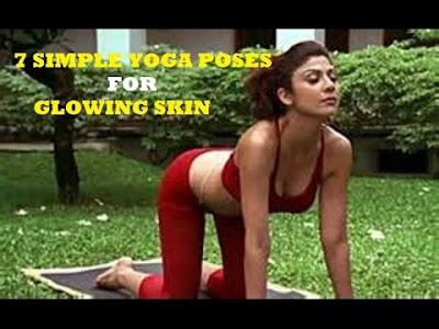 7 Yoga Poses That Promise Beautiful And Glowing Skin