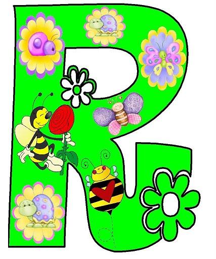 Dibujos letras primavera para imprimir imagenes y dibujos para imprimir - Letras decoradas infantiles ...