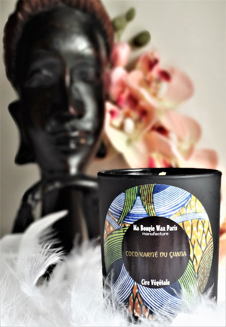 avis Coco & Karité du Ghana de Ma Bougie Wax Paris, bougie africaine, bougie naturelle, blog bougie, bougie parfumee