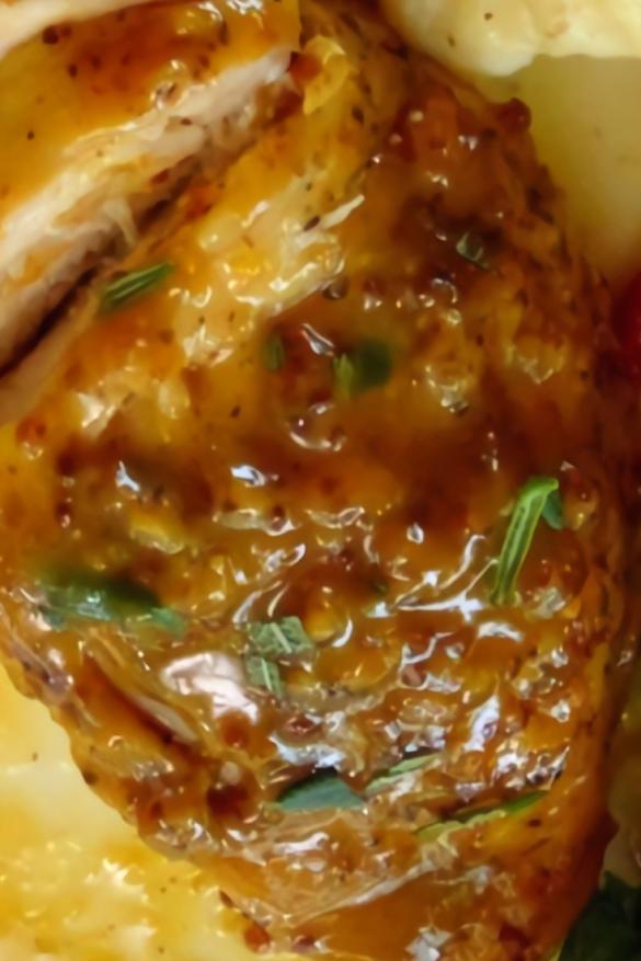 Sweet Mustard Chicken
