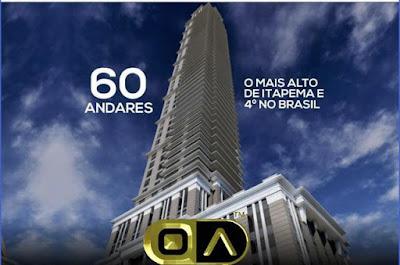 VR TOWER O quarto maior prédio do Brasil é de Itapema