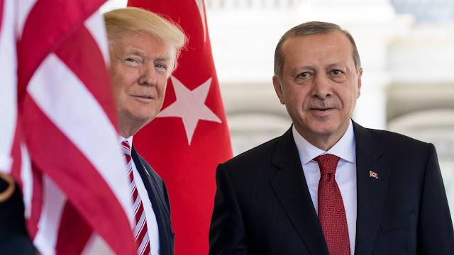 Ερντογάν και Τραμπ επιβεβαίωσαν ότι θα συναντηθούν στις 13 Νοεμβρίου