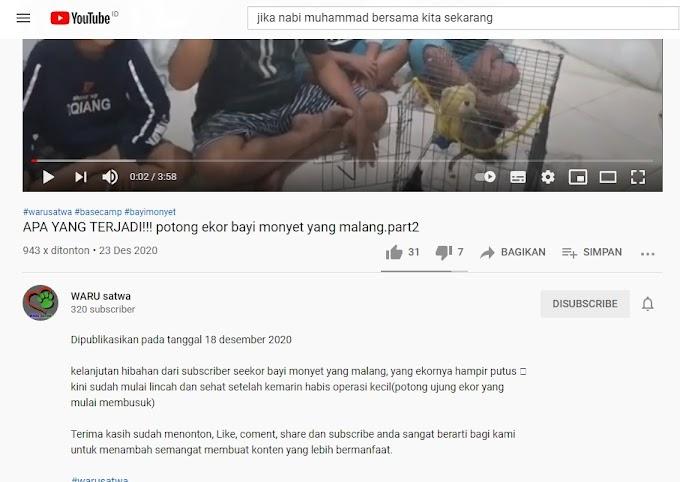 Ijin Copyright/Pemakaian Ulang Video @WARUsatwa