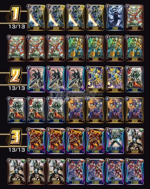 Nova Grappler Raizer Deck and Build 2