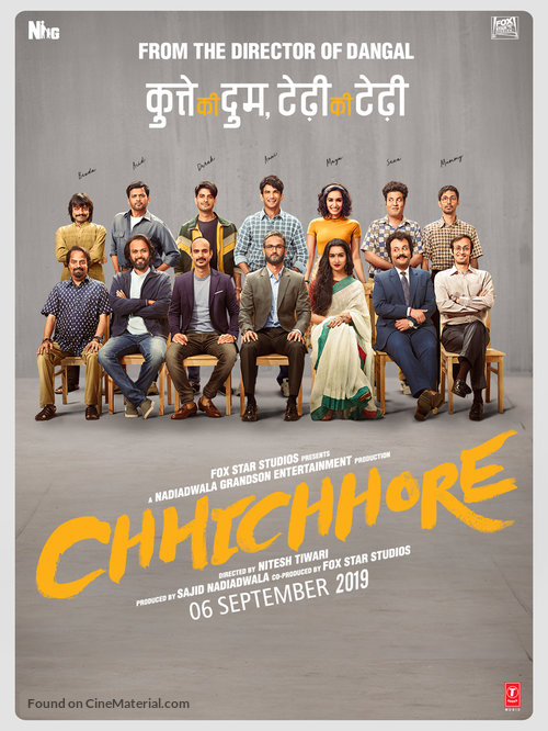 Chhichhore (2019) Hindi 720p HEVC HD Movie [700MB] Download