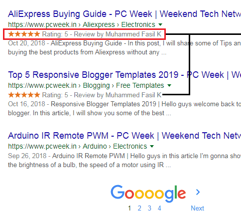 How to Add Google Rich Snippets in Blogger