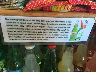 Jelly Belly sodas