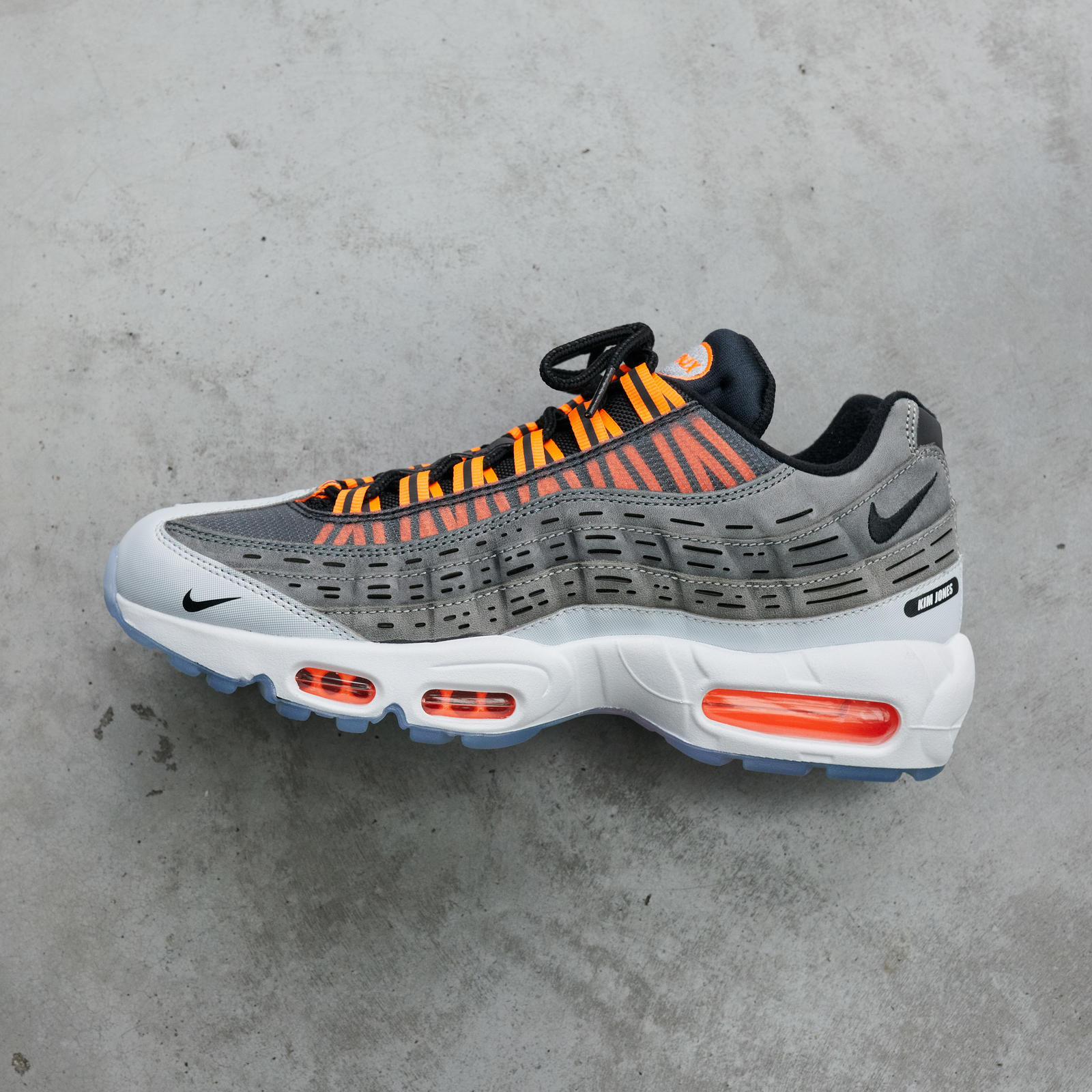 Kim Jones is passionate about his newest Nike collaboration - the Air Max 95