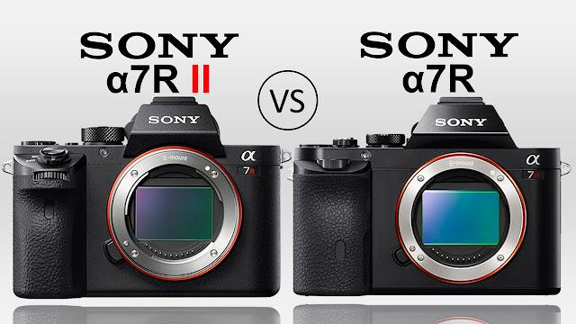 Sony A7R II appareil photo vc sony a7r