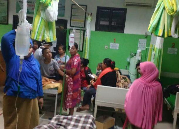 Warga Banta Bantaeng Keracunan Massal