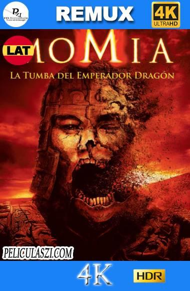 La Momia, la Tumba del Emperador Dragón (2008) Ultra HD REMUX 4K HDR Dual-Latino VIP