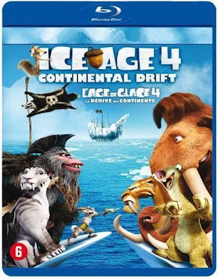 Ice Age 4 Continental Drift 2012 Dual Audio 720p BRRip 800Mb x264