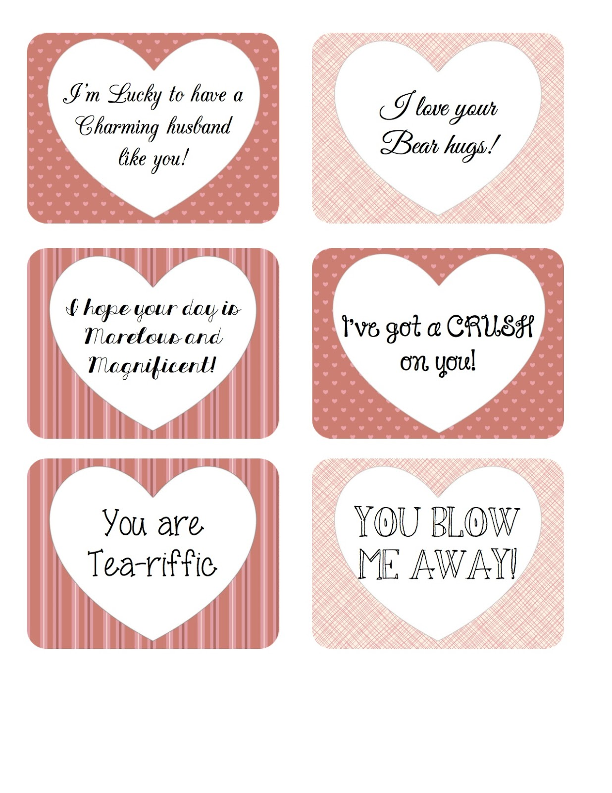 picture relating to You Blow Me Away Valentine Printable referred to as Bearcub Creations: 14 Times of Valentines Working day with Cost-free Printable