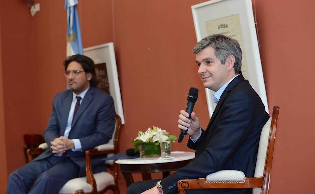 Marcos Peña y  Germán Garavano