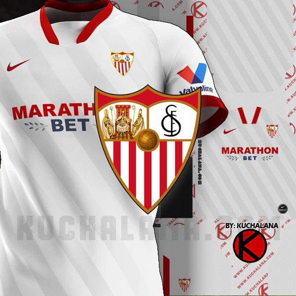 Sevilla Fc 2020 21 Kit Dls2019 Kuchalana