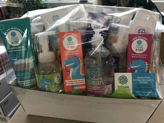 Nature Clean Gift Basket Giveaway