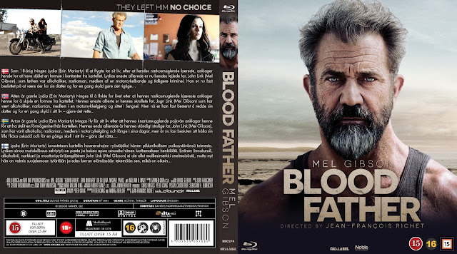 Blood Father Bluray Cover