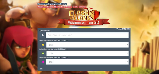 clash of clan hack without human verification