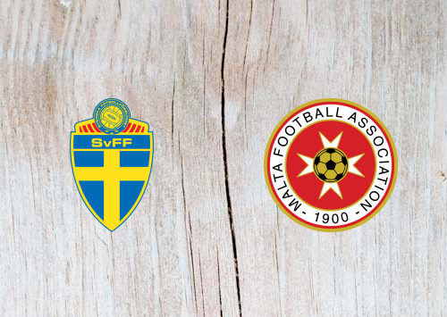 Sweden vs Malta - Highlights 7 June 2019