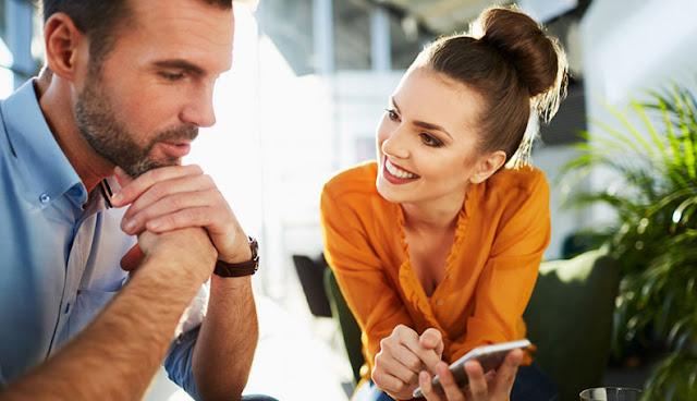 diskusikan masalah dalam hubungan dengan pasangan terlebih dulu