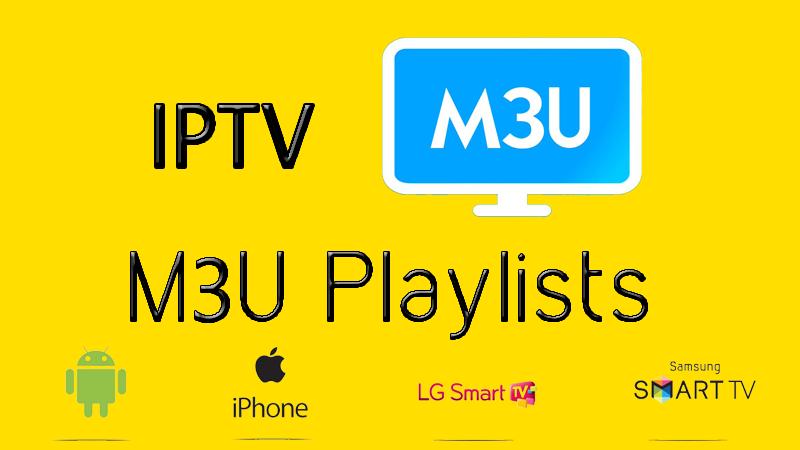 IPTV Daily Playlist M3u Links 06/08/2018