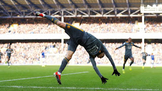 Selebrasi pemain Leicester City, Jamie Vardy. - Foto/REUTERS