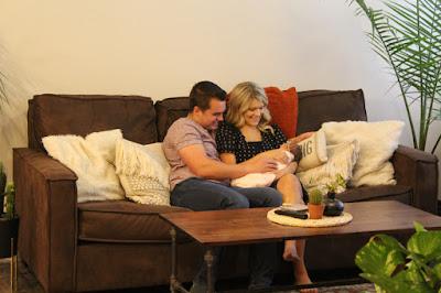Josie and Kelton Balka with newborn Willow Balka