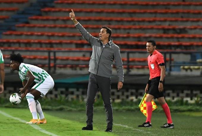 """Alexandre Guimaraes, conforme con el triunfo de Atlético Nacional frente a Junior: """"Había que apretar los dientes"""""""