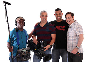 Equipe do Vitrine TV Cultura no Estudio Bianca Machado