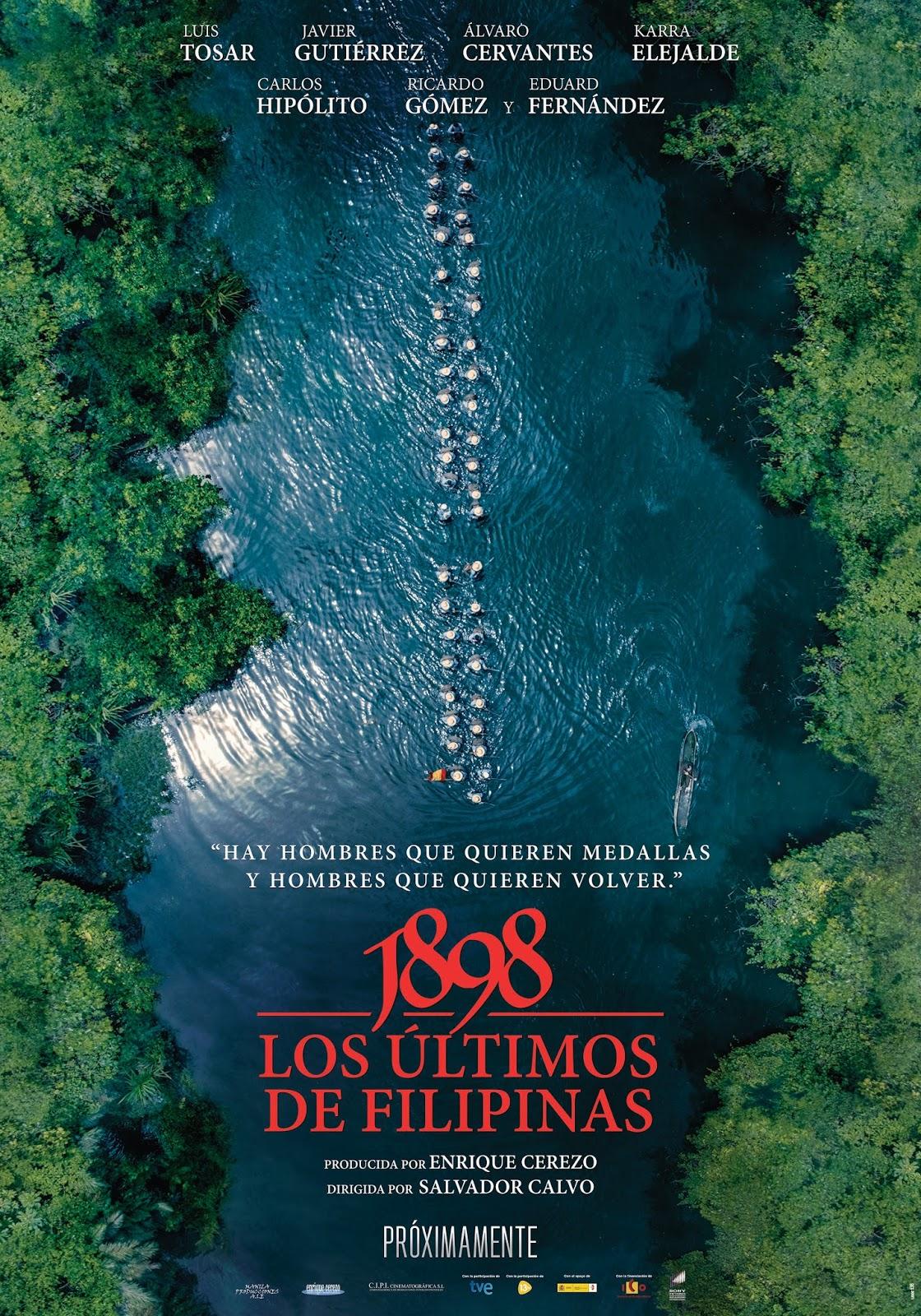 Teaser póster de '1898. Los últimos de Filipinas'