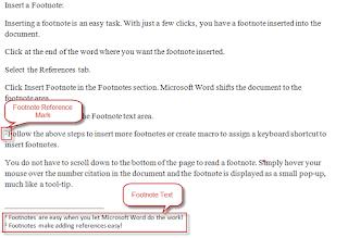 Cara Membuat Footnote atau Catatan Kaki di Microsoft Word