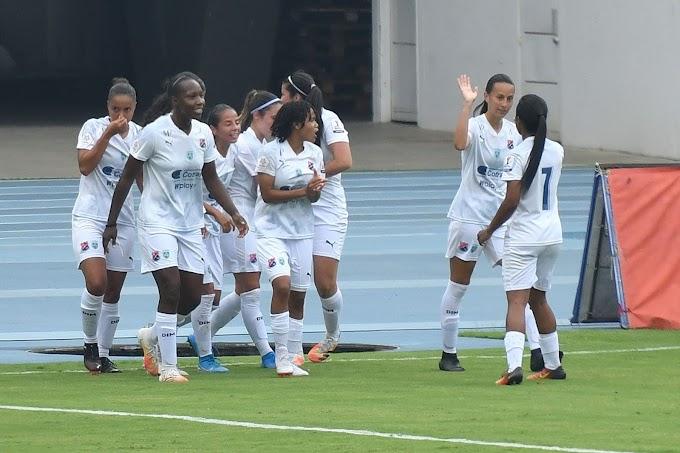 Debut victorioso: Independiente Medellín se estrenó con goleada en la Liga Femenina, nada menos que ante el subcampeón de la Libertadores