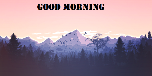Good Morning Scenery Images download