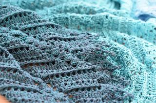 "Shawl ""Taran"" chrochet by PrettyNett.de"