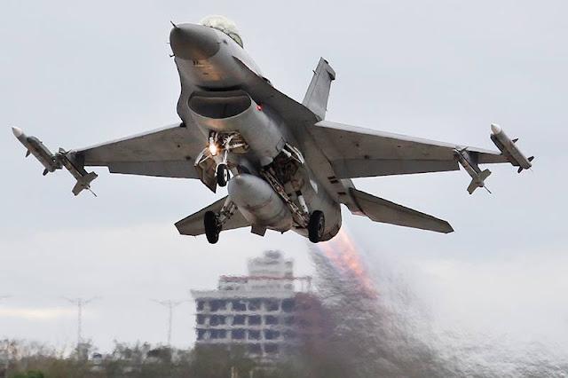 Taiwan F16 Viper operational