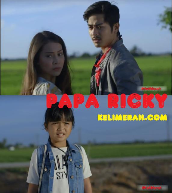 Drama Papa Ricky Lakonan Fadlan Hazim, Elizad Sharifuddin,