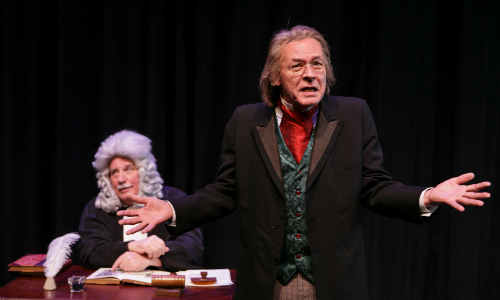 """The Trial of Ebenezer Scrooge"" plays at Taproot Theatre"